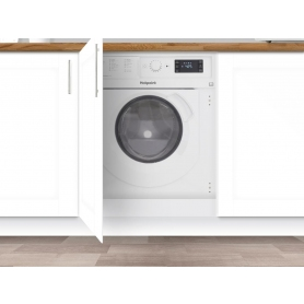 BIWDHG7148  Hotpoint Washer-dryer 7+5KG 1400spin White Antistain 100