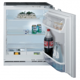 Hotpoint HLA1 Built In Undercounter Fridge in White, A+ Rated