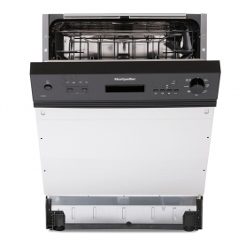 Montpellier MDI650X/W/K Semi Integrated Dishwasher - 2